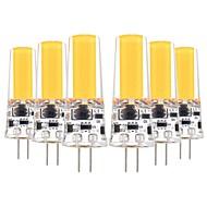 billiga Belysning-YWXLIGHT® 6pcs 5W 400-500lm G4 LED-lampor med G-sockel T 1 LED-pärlor COB Dekorativ Varmvit Kallvit 12V 12-24V