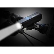 billige Sykkellykter og reflekser-Sykkellykter Frontlys til sykkel LED LED Sykling Rask installasjon Med laderkabler Ladestatus Sæt Lithium-batteri 300 Lumens Innebygd