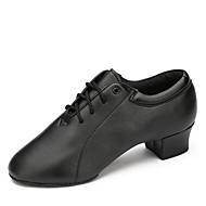 billige Moderne sko-Herre Moderne Kunstlær Høye hæler Trening Lav hæl Svart 1 - 1 3/4 Kan spesialtilpasses