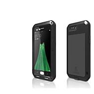 billiga Mobil cases & Skärmskydd-fodral Till OPPO R11 Plus Fri Från Vatten / Smuts / Stöt Fodral Ensfärgat Hårt Metall för Oppo R11 Plus