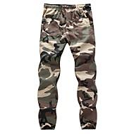 Herre Bomuld Skinny Bukser camouflage