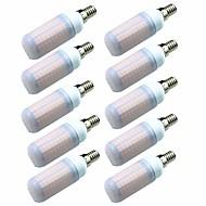 billige Kornpærer med LED-10pcs 7W 700lm E14 G9 GU10 E26 / E27 E12 LED-kornpærer T 180 LED perler SMD 2835 Dekorativ Varm hvit Kjølig hvit 200-240V