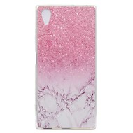 billiga Mobil cases & Skärmskydd-fodral Till Sony Xperia L2 Xperia XA2 Ultra Mönster Skal Marmor Mjukt TPU för Xperia XA2 Xperia XA2 Ultra Xperia XZ1 Compact Sony Xperia