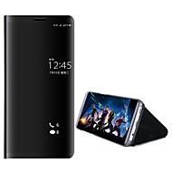 billiga Mobil cases & Skärmskydd-fodral Till Huawei Mate 10 pro / Mate 10 lite med stativ / Plätering / Spegel Fodral Enfärgad Hårt PC för Mate 10 / Mate 10 pro / Mate 10 lite / Mate 9 Pro