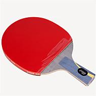baratos Tenis de Mesa-DHS® Hurricane HAO CS Ping Pang/Tabela raquetes de tênis De madeira Fibra de carbono Borracha Cabo Curto Espinhas