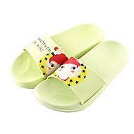 tanie Pantofle-Zwyczajny Pantofle wsuwane Pantofle Pantofle damskie Plastik Skóra PVC Wzór zwierzęcy
