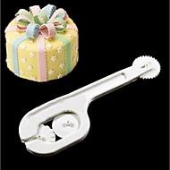 billige Bakeredskap-2pcs Nyhet Bursdag Party Plastikker Høy kvalitet Kreativ baking Tool Dessertverktøy Kakekniv