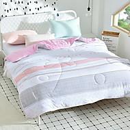 billiga Täcken och överkast-Bekväm Polyester/Bomull Blandning Polyester/Bomull Blandning Reaktiv Tryck 300 Tc Randig