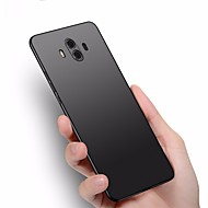 billiga Mobil cases & Skärmskydd-fodral Till Huawei Mate 10 pro / Mate 10 lite Ultratunt Skal Enfärgad Hårt Plast för Mate 10 / Mate 10 pro / Mate 10 lite