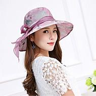 Χαμηλού Κόστους Αξεσουάρ-Γυναικεία Φλοράλ Δαντέλα Φιόγκος - Καπέλο ηλίου