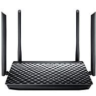 baratos Renovando-Asus ac1200 router wi-fi inteligente gaming dual band 4 portas & antenas usb2.0 casa e escritório 1 pacote abs wifi-enabled