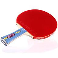 baratos Tenis de Mesa-DHS® E402 Ping Pang/Tabela raquetes de tênis Madeira Borracha 4 Estrelas Cabo Comprido Espinhas