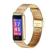 tanie Inteligentne zegarki-Inteligentny zegarek Y-8 na Android 4.4 / iOS Spalone kalorie / Bluetooth / Czuj dotyku / Krokomierze / Kontrola APP Pulse Tracker / Krokomierz / Powiadamianie o połączeniu telefonicznym / Budzik