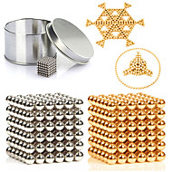 cheap -Magnet Toy Building Blocks / Neodymium Magnet / Magnetic Balls 216pcs 3mm Metalic / Magnet Magnetic Unisex Adults Gift