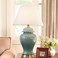 billige Lamper-Traditionel / Klassisk Dekorativ Bordlampe Til Keramikk 220-240V Blå Gul