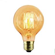 billige Glødelampe-G80 edison retro pære designer e27 40w