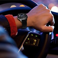 billiga Smart klocka Tillbehör-Klockarmband för Gear S3 Frontier Gear S3 Classic Samsung Galaxy Klassiskt spänne Läder Nylon Handledsrem