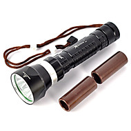 cheap Flashlights & Camping Lanterns-LED Flashlights / Torch / Diving Flashlights / Torch / Handheld Flashlights / Torch LED 8000lm 4 Mode Professional / Anti-Shock /