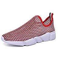 baratos Sapatos Masculinos-Homens Couro Ecológico Primavera / Outono Conforto Tênis Aventura Antiderrapante Cinzento / Fúcsia / Azul Real