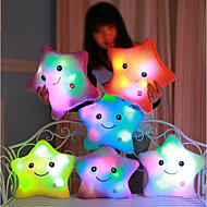 Luminous pillow Led Light Pillow Start Shape Romantiikka Pehmolelut Lovely Mukava Tyttöjen Lelut Lahja