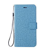 billiga Mobil cases & Skärmskydd-fodral Till Xiaomi Mi 6 / Mi 5X Plånbok / Korthållare / med stativ Fodral Enfärgad Hårt PU läder för Xiaomi Mi Note 2 / Mi 6 Plus / Xiaomi Mi 6