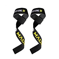 billige Sportsstøtter-Wristletter / Hånd- og håndleddstøtte til Trening & Fitness / Mixed Martial Arts (MMA) Styrketrening Polstret Stoff 2 Svart