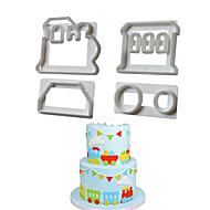 billiga Kök och matlagning-Släp För köksredskap Plastik Kreativ Köksredskap Hög kvalitet Bakning Verktyg