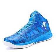 Χαμηλού Κόστους Παπούτσια για περπάτημα-Ανδρικά PU Καλοκαίρι Παπούτσια ζευγάρι Αθλητικά Παπούτσια Μπάσκετ Φοριέται Μαύρο / Κόκκινο / Μπλε