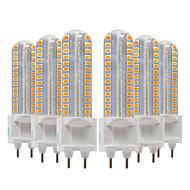 billige Bi-pin lamper med LED-ywxlight® 6pcs 8w 700-800lm g12 ledet bi-pin lys 128led smd 2835smd 360 graders lysarmatur mais pære ac 220-240v