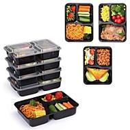 billiga Bordsservis-9pcs Plastik Värmetålig Lunchlådor, servis
