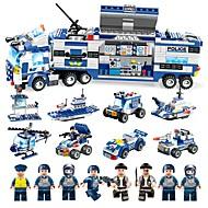 BEIQI Bausteine Bausatz Spielzeug Bildungsspielsachen 762 pcs Militär Polizei kompatibel Legoing Stress und Angst Relief Eltern-Kind-Interaktion Klassisch Militärfahrzeuge Polizeiauto Jungen Mädchen