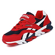 tanie Obuwie chłopięce-Dla chłopców Obuwie Guma Wiosna Comfort Buty do lekkiej atletyki na Gray / Czerwony / Granatowy