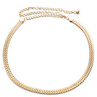 Women's Alloy Chain - Solid Colored