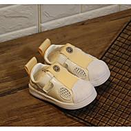 baratos Sapatos de Menino-Para Meninos / Para Meninas Sapatos Couro Ecológico Primavera Conforto Tênis para Preto / Bege / Rosa claro