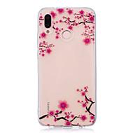 Etui Til Huawei P20 lite P20 Pro IMD Transparent Mønster Bagcover Blomst Blødt TPU for Huawei P20 lite Huawei P20 Pro Huawei P20 P10 Plus