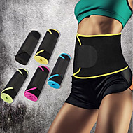 baratos Equipamentos & Acessórios Fitness-Faixa Lombar Com 1 pcs Neopreno Elástico, Multifunções Dobrável Para Casual / Exercício e Atividade Física / Ginásio Unisexo