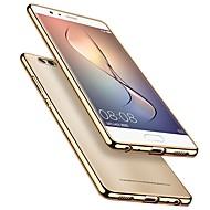 billiga Mobil cases & Skärmskydd-fodral Till Huawei P10 P10 Plus Plätering Ultratunt transparent kropp Skal Enfärgad Mjukt TPU för P10 Plus P10 Lite P10 Huawei P9 Plus