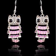 Women's Drop Earrings - Bird Sweet, Fashion Pink For Party / Evening / Date