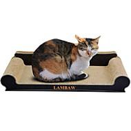 Χαμηλού Κόστους Παιχνίδια για γάτες-Catnip Μέθοδος Scratch Πολυτέλεια Φιλικό προς τα Κατοικίδια Πολύχρωμο Μπλοκ για ξύσιμο νυχιών Χωρίς Paraben Χαρτί Τέχνης Χαρτόνι Για Γάτες