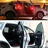 2pcs LEDナイトライト レッド オートスイッチ 安全用具 緊急 自動車用LED電球 車装飾品 標灯
