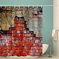 tanie Zasłony prysznicowe-Zasłony i Haczyki Kąpielowe Neoklasycyzm Poliester Nowość Wykonane maszynowo Wodoodporne