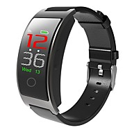 tanie Inteligentne zegarki-Inteligentny zegarek B11C na Android 4.4 / iOS Spalone kalorie / Bluetooth / Czuj dotyku / Krokomierze / Kontrola APP Pulse Tracker / Krokomierz / Powiadamianie o połączeniu telefonicznym / Budzik