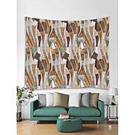 billige Veggdekor-Tegneserie Veggdekor 100% Polyester Klassisk Vintage Veggkunst, Veggtepper Dekorasjon