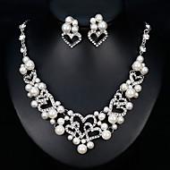 Γυναικεία Κοσμήματα Σετ Ευρωπαϊκό, Μοντέρνα Περιλαμβάνω Ασημί Για Γάμου Καθημερινά