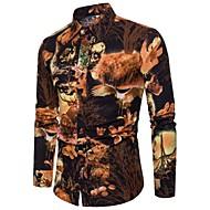 Majica Muškarci-Vintage Kinezerije Boho Klub Izlasci Cvjetni print Print