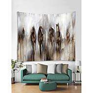billige Veggdekor-Dyr Tegneserie Veggdekor polyester Moderne Veggkunst, Veggtepper Dekorasjon