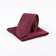 billige Tilbehør til herrer-Herre Vintage Kontor Slips Jacquardvevnad