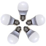 billiga Belysning-5pcs 4W 360lm E26 / E27 LED-globlampor G45 8 LED-pärlor SMD 2835 Varmvit 220-240V
