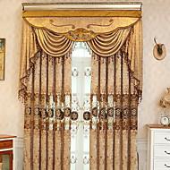 Zavjese Zavjese Living Room Geometrijski oblici Pamuk / poliester Vez