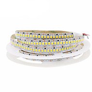 billiga Belysning-1x5M Flexibla LED-ljusslingor 1200 lysdioder Varmvit Kallvit Klippbar Självhäftande Kopplingsbar Dekorativ 12V 1st